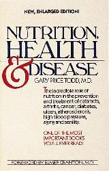 Nutrition, Health and Disease - Gary Price Todd, vitamines voor ogen